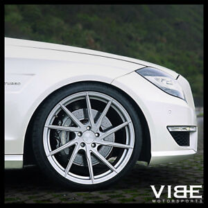 19 Stance Sf01 19x8 5 Silver Forged Concave Wheels Rims Fits Audi B6 A4