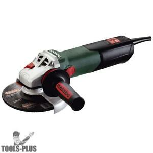 Metabo 600464420 6 12 Amp Angle Grinder W Lock On Switch New