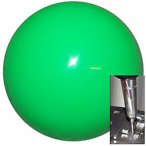 Neon Green Shift Knob For Dodge Chrys Jeep Auto Stick W Adapter