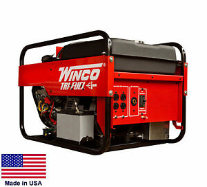 Portable Generator Tri Triple Fuel Ng Lp Gasoline Fired 9 Kw 120 240v