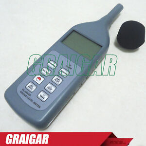 Sound Level Meter Self Calibration With Software And Cable For Rs232c sl 5868p
