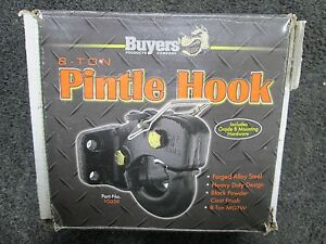 Buyers 8 Ton Pintle Hook Forged Alloy Steel 10038