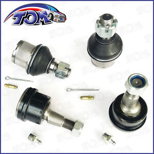 Brand New 4wd Dodge Ram 2500 3500 4 Front Lower Upper Adjustable Ball Joints