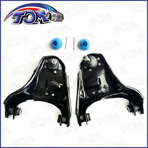 New 2pcs Front Upper Control Arms Pair For Chevy Gmc Blazer Jimmy Sonoma S10
