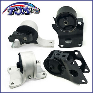 Engine Motor And Auto Trans Mounts Set For 2002 03 04 05 06 Nissan Altima 2 5l