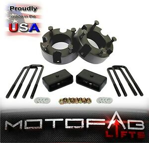 3 Front And 2 Rear Leveling Lift Kit For 2007 2017 Toyota Tundra Made In Usa