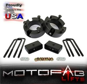 3 Front And 2 Rear Leveling Lift Kit For 1999 2006 Toyota Tundra Made In Usa
