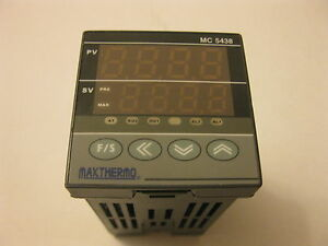 New Maxthermo 48x48 Pid Temperature Controller Mc 5438 85 265vac Output Ssr
