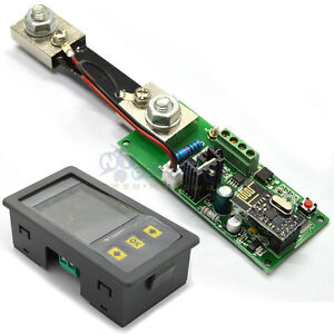Mhf120100p 120v 100a Digital Wireless Voltage Current Meter Ammeter Voltmeter