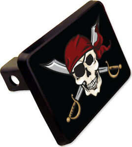 Pirate Swords Trailer Hitch Cover Plug Funny Novelty