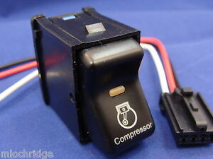 Jeep Tj Wrangler Air Compressor Rocker Switch Fits 1997 To 2006 With Pig Tail