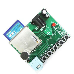 5pcs Digital Sound Recording Voice Module Wtr010 sd For Recorder Sd Card Slot