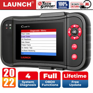 Launch X431 Creader Vii 7 Diagnostic Tool Scanner Obd2 Code Reader Engine Abs