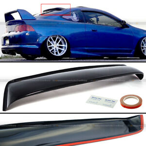 Fit Acura Rsx Dc5 Type S Abs Plastic Black Rear Roof Spoiler Window Visor Wing