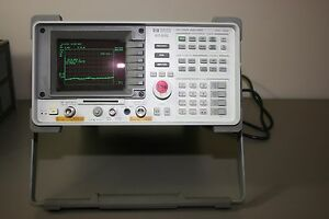 Hp Agilent 8591e Spectrum Analyzer 9khz 1 8ghz Calibrated Warranty Tracking Gen