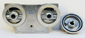 Dual Bypass Engine Oil Filter Kit 3 4 16 1u Version no Hose no Filters b7379