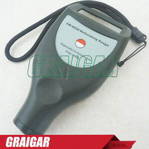 Auto Paint Coating Thickness Gauge Meter Tester With In Built Probe Cm8828