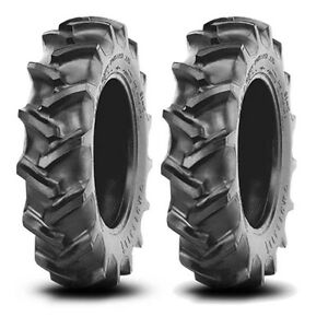 2 New 13 6 28 Crop Max Rear Tires Massey Ferguson Farm Tractor Free Shipping