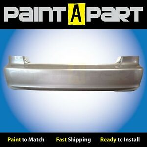 2001 2002 Honda Accord Coupe Rear Bumper Painted Nh623m Satin Silver Metallic