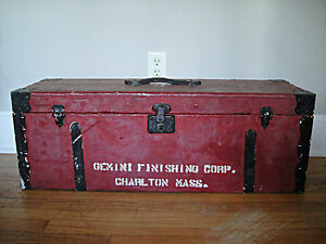 1800 S Carpenters Tool Chest Wooden Chest Carpenter Wood Worker Mechanic