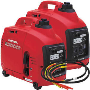 Honda Eu1000 Inverter Generators 2 And Parallel Cable Kit