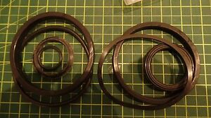 White Lift Truck Rubber Seal Repair Kit 6813271 O ring N o s