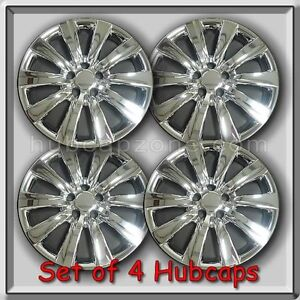 2012 2013 16 Toyota Corolla Replacement Hubcaps Set Of 4 Chrome Wheel Covers