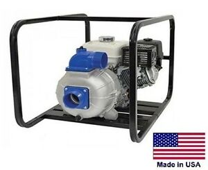 Trash Pump Centrifugal 4 Ports 32 400 Gph 45 Psi 13 Hp Honda 1 6 Gal