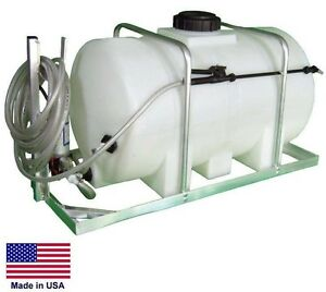 Skid Mounted Sprayer 12 Volt Dc 35 Gallon Tank 1 6 Gpm Commercial