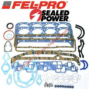 New Fel Pro Engine Overhaul Gasket Set 1981 1985 Chevy Sb 305 5 0l