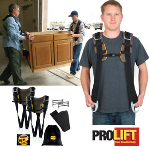 Shoulder Dolly Pro Lift Heavy Duty Lifting System Moving Prolift Strap Furniture