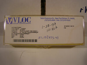 Vloc Ii vi Laser Crystal Yag Rod Erbium Rod 2947nm 5mm X 50mm New Free Ship