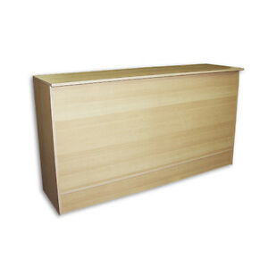 Pos Maple Wrap Counter 70 l X 20 d X 38 h