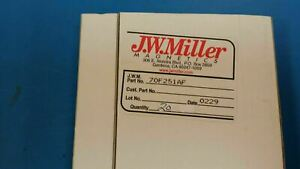 10 Pcs 70f251af Jw Miller Rf Fixed Inductors 250 000uh 5 Obsolete