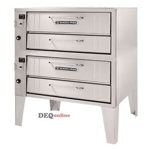Bakers Pride 252 Convection Flo Series Double Pizza Oven