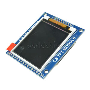 Mini 1 8 Serial Spi Tft Lcd Module Display With Pcb Adapter St7735b Ic