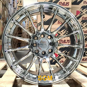 Xxr 550 Platinum Wheels 16x8 25 2 Concave Rims 4x100 Hellaflush Acura Integra