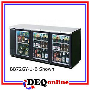 Beverage air Bev Air Bb72hc 1 g b Back Bar Refrigerator Glass Door