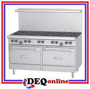 Garland G60 10rr G Series 60 Gas Range Ten Open Burners And Two 26 Ovens