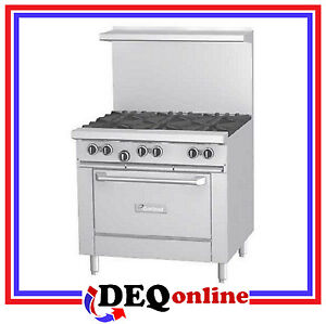 Garland G36 6r G Series 36 Gas Range Six Open Burners And 26 Oven