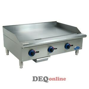 Globe C36gg Chefmate Series Gas Griddle W Manual Controls