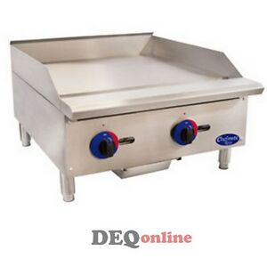 Globe C24gg Chefmate Series Gas Griddle W Manual Controls