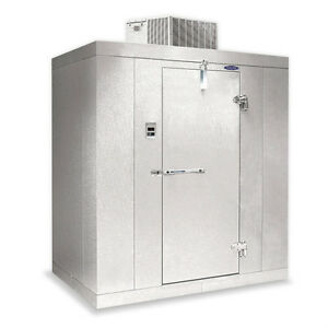 Norlake Nor lake Walk In Freezer 4 x 8 x 7 7 H Klf7748 c 10f Self contained
