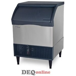 Scotsman Cu3030sa 1 Undercounter Ice Maker W Bin Small Cube 300 Lbs Air Cooled