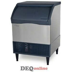 Scotsman Cu3030ma 1 Undercounter Ice Maker W Bin 300 Lbs Daily Medium Cube