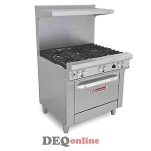 Southbend 4361d 36 Gas Range 6 Non clog Burners With Standard Grates