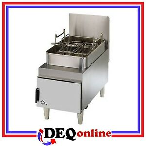 Star 615ff Star max Gas 15 Lb Capacity Countertop Fryer