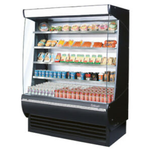 Turbo Air Tom 60dxb n Vertical Open Display Case Extra Deep Cooler