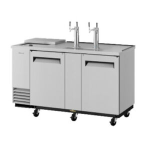 Turbo Air Tcb 3sd n6 Stainless Direct Draw Club Top Draft Beer Dispenser Cooler