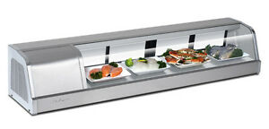 Turbo Air Sakura 60 Self Contained Refrigerated Sushi Case